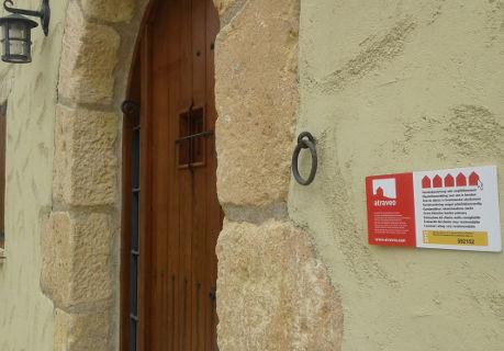Bild Nr 4 - Plakette bei einem Ferienhaus an der Costa Dorada
