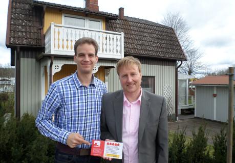 Bild Nr 13 - Die Vermieter des Ferienhauses Nr. 2761455 in Schweden präsentieren ihre Plakette